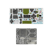 032217 Микродизайн 1/32 Набор фототравления для P-39 Q/N (Kitty Hawk)