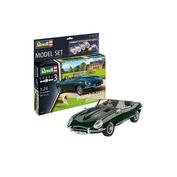 67687N Revell 1/24 Car Set Jaguar E-Type Roadster + Paint
