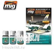 AMIG7414 Ammo Mig GERMAN EARLY FIGHTERS AND BOMBERS (German fighters and bombers)