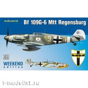84143 Eduard 1/48 Bf 109G-6 MTT Regensburg