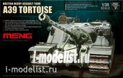 TS-002 Meng 1/35 British Heavy Assault Tank A39 Tortoise