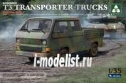 2014 Takom 1/35 BUNDESWEHR T3 TRANSPORTER TRUCKS Double Cab
