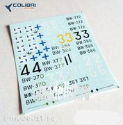 72048 ColibriDecals 1/72 Декаль для BW-239 (Finnish aces)