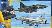 SH72411 Special Hobby  11/72 AJ-37/SK-37 Viggen Duo Pack & Book