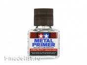 87204 Tamiya Грунтовка жидкая (прозрачная) для металла. 40 мл.