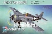 80328 HobbyBoss 1/48 Aircraft F4F-4 Wildcat