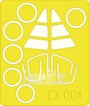 EX001 Eduard 1/48 Маска для F-102