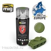 TTH108 Ammo Mig Зеленая матовая грунтовка
