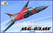 RVA72001 R.V.AIRCRAFT 1/72 MiG-23 MF russian and czech marking