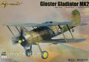 64804 Merit 1/48  Британский истребитель-биплан Gloster Gladiator Mk.II