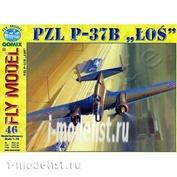 FL46 FLY Model 1/33 P-37 B LOS