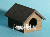 ED-3501 Eureka 1/35 Diorama accessories-Resin set 1/35 scale-Shed for dog (Doghouse)