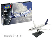 03942 Revell 1/144 Airbus A320 Neo Lufthansa