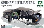 2005 Takom 1/35 German Civilian Car with Gas Rockets