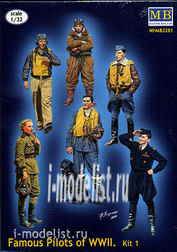 МasterВox 1/32 3201 Famous pilots of the Second World set no. 1