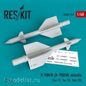 RS48-0267 1/48 RESKIT Ракета R-98KM (K-98KM) (2 штуки)