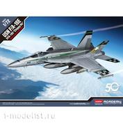 12565 Academy 1/72 Американский многоцелевой истребитель USN F/A-18E VFA-195 «Chippy Ho»