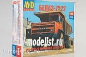 1331AVD AVD Models 1/43 BelAZ dump truck-7522