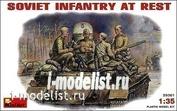 1/35 MiniArt 35001 Soviet infantry at rest (1943-1945 biennium.)
