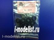 EQG72133 Экипаж 1/72 Резиновые колёса для Ан-10/12