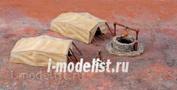 6148 Italeri 1/72 Desert Well & Tents