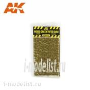 AK8119 AK Interactive Смешанные пучки травы, 6 мм