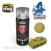 TTH111 Ammo Mig Пустынная желтая матовая грунтовка