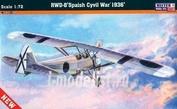 B-46 MisterCraft 1/72 Самолет RWD-8 Spanish Civil War 1936