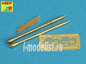 A32 026 Aber 1/32 Set of two barrels for Japanese 30 mm Type 5 aircraft machine cannons