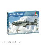1439 Italeri 1/72 Истребитель MC.202 Folgore