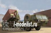 01053 Я-моделист клей жидкий плюс подарок Trumpeter 1/35 Американский тяжелый тактический транспортный автомобиль HEMTT М1120
