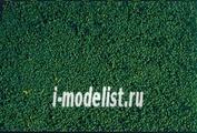 1603 Heki Материалы для диорам Травяной покров, мелкий ворс зелеый (цвет хвои) 28x14 см