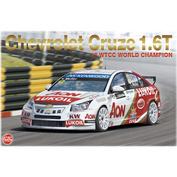 PN24022 NuNu 1/24 Chevrolet Cruze (1.6T) '13 WTCC World Champion