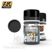 AK-2038 AK Interactive SMOKE PIGMENT (smoke Pigment)