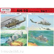 AZ7702 AZ Model 1/72 AH-1G Huey Cobra. 3 набора в коробке