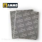 AMIG8556 Ammo Mig Шлифовальная губка (180) / SANDING SPONGE SHEET (180)
