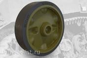 35003 Fury Models 1/35 Набор дополнений штампованные дорожные колеса HMC комплект A для легкого танка США M5A1 / M8 штампованные дорожные колеса HMC комплект A