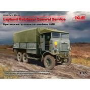 35600 ICM 1/35 British Truck Leyland Retriever General II MB