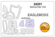 24201 KV Models 1/24 Маска для вертолёта