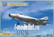 72021 ModelSvit 1/72 Самолет М.и.Г-21Ф