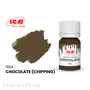 C1054 ICM Paint for creativity, 12 ml, Chocolate (Chipping))