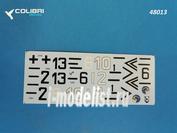 48013 ColibriDecals 1/48 Декаль для Fw-190 A3 Jg 51 part I