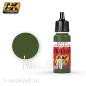 AK3025 AK Interactive Medium Green / M-44 Midtone Green Dots