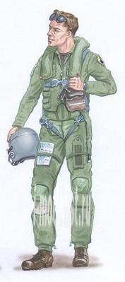 AL4011 Plusmodel 1/48 Pilot F-16