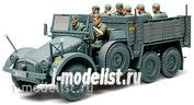 32534 Tamiya 1/48 Krupp Protze (Kfz.70) Грузовик 6*4 для перевозки солдат.