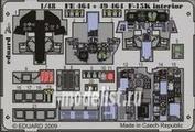 49464 Eduard 1/48 Фототравление для F-15K interior S.A.
