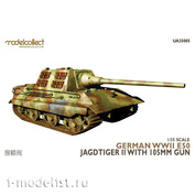 UA35005 Modelcollect 1/35 German WWII E50 Jagdtiger II with 105mm Gun