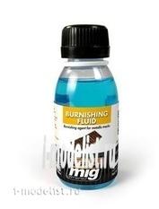 AMIG2020 Ammo Mig Liquid for blackening metal tracks (METALLIC TRACKS BURNISHING FLUID)