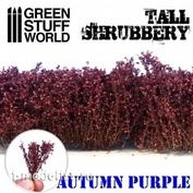9932 Green Stuff World Высокий кустарник - осенний фиолетовый / Tall Shrubbery - Autumn Purple