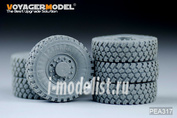 PEA317 Voyager Model 1/35 Фототравление для Modern US Army MTVR Road Wheels (6PCES)(For TRUMPETER)